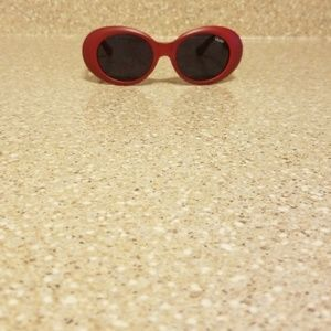 Stylish Red Sunglasses